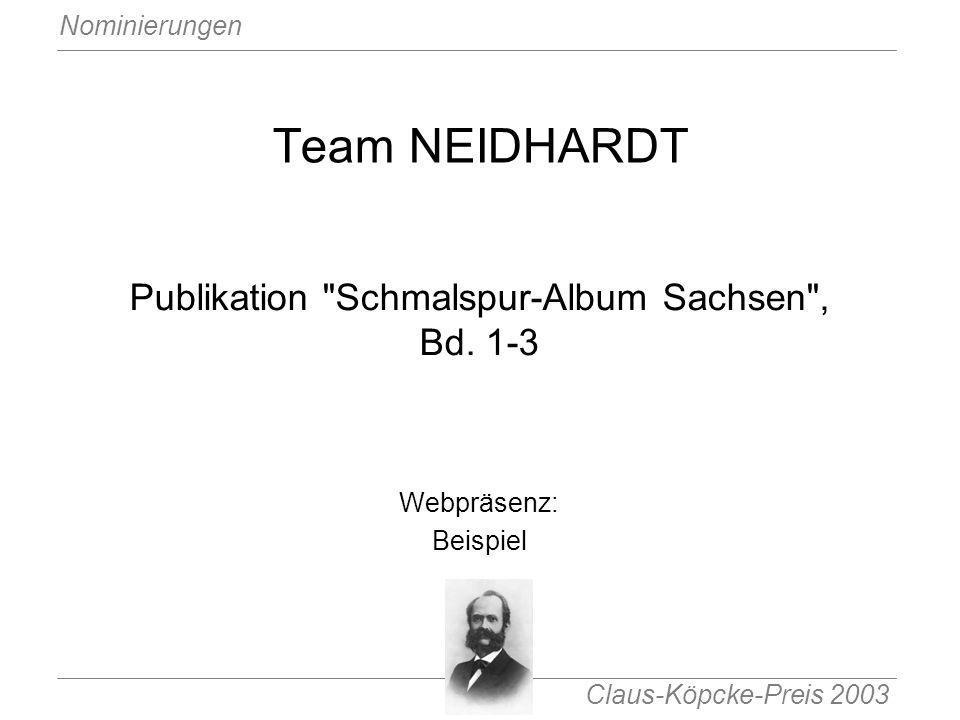 Publikation Schmalspur-Album Sachsen , Bd. 1-3
