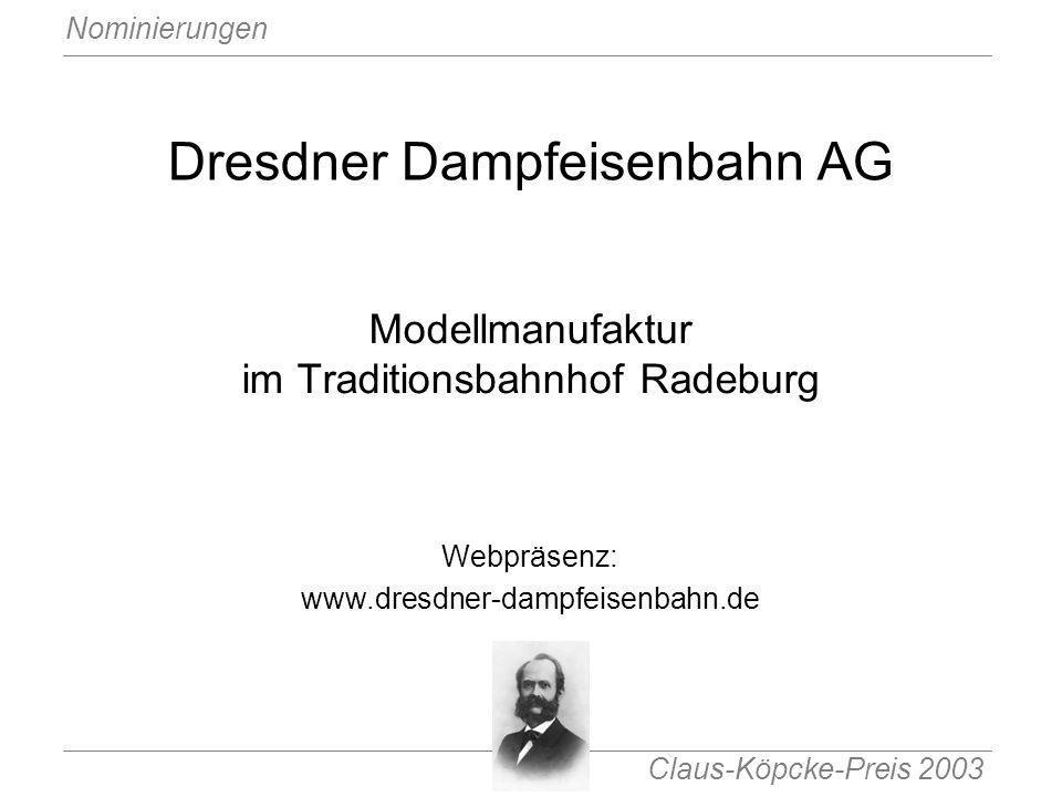 Dresdner Dampfeisenbahn AG