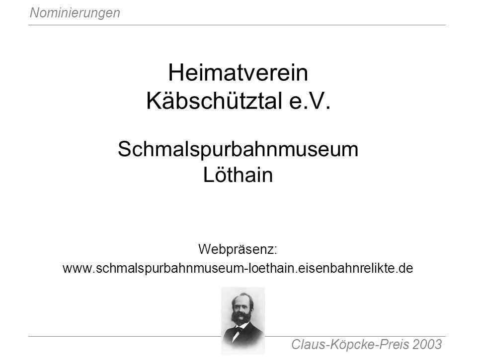 Heimatverein Käbschütztal e.V.