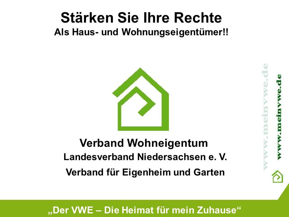 Stärken Sie Ihre Rechte Als Haus- und Wohnungseigentümer!!
