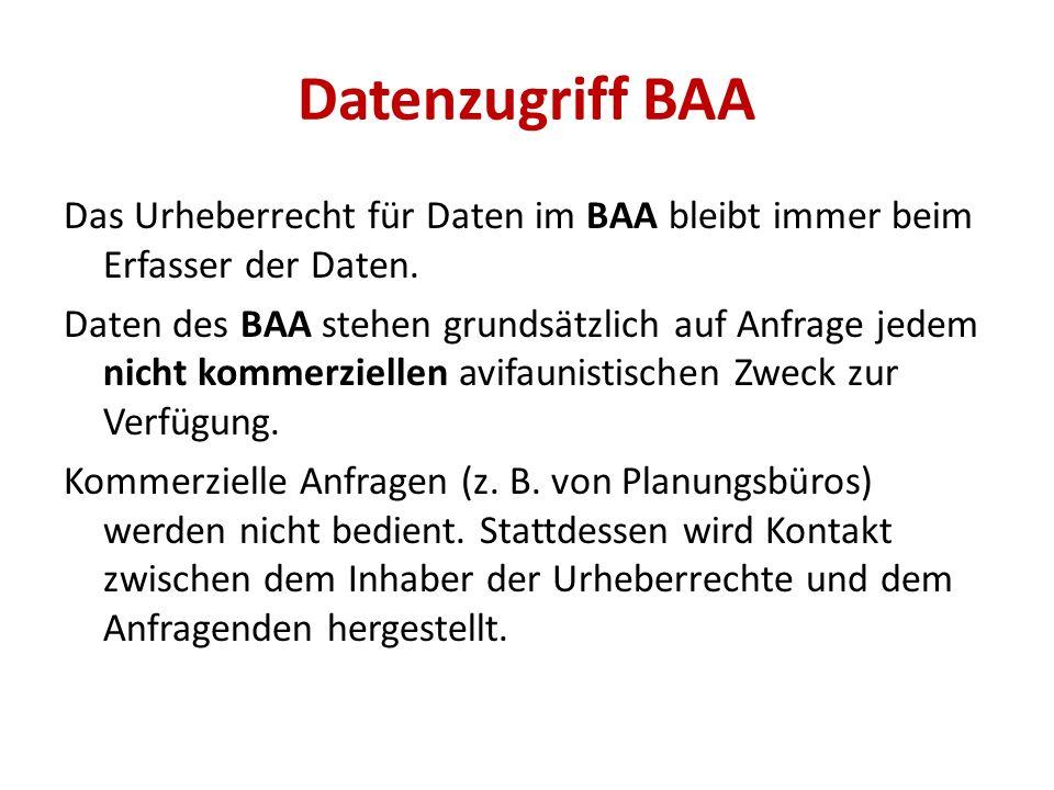 Datenzugriff BAA