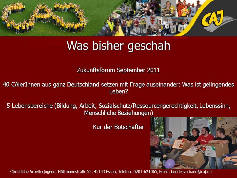 Zukunftsforum September 2011