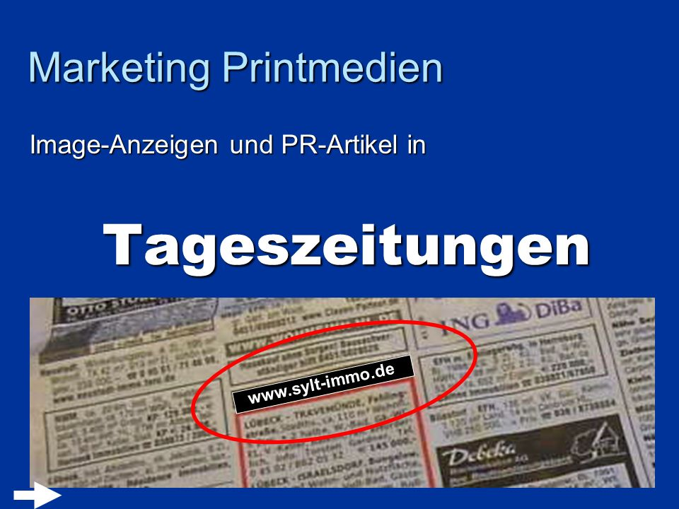 Marketing Printmedien