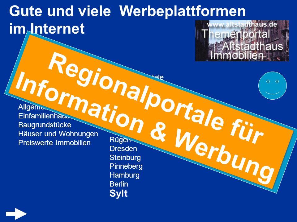 Regionalportale für Information & Werbung