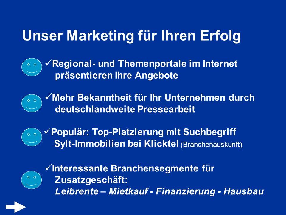 Unser Marketing für Ihren Erfolg