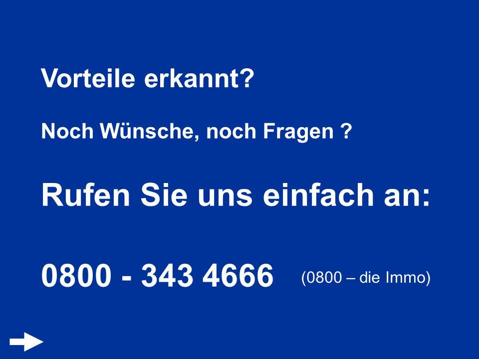Rufen Sie uns einfach an: