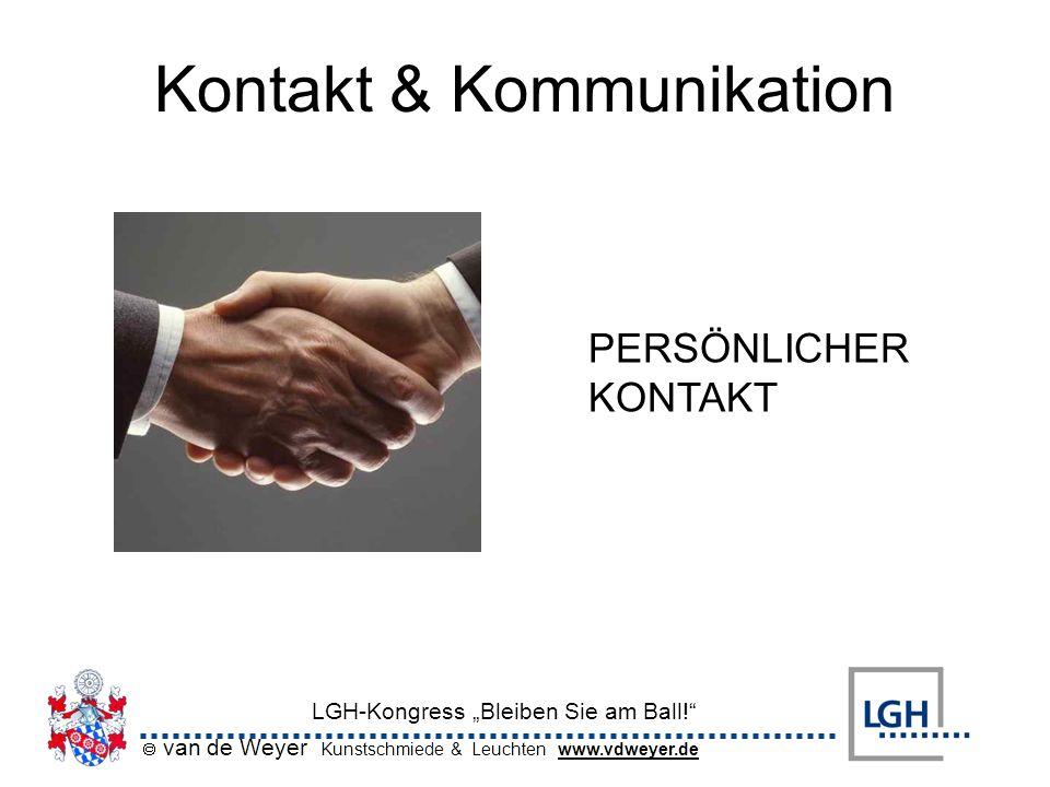 Kontakt & Kommunikation