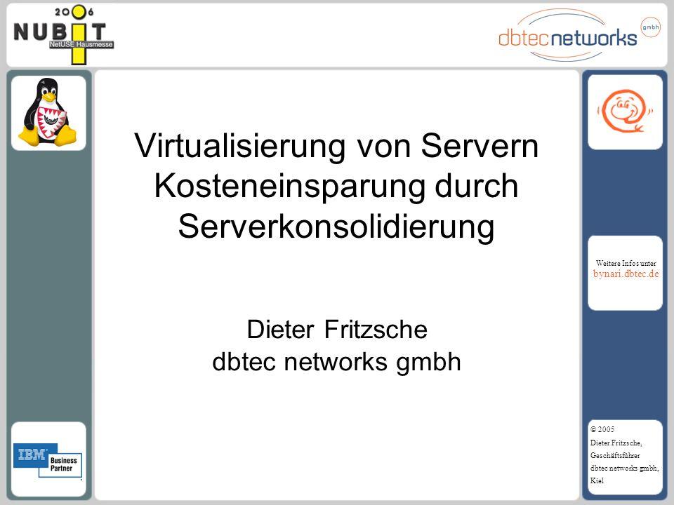 Dieter Fritzsche dbtec networks gmbh