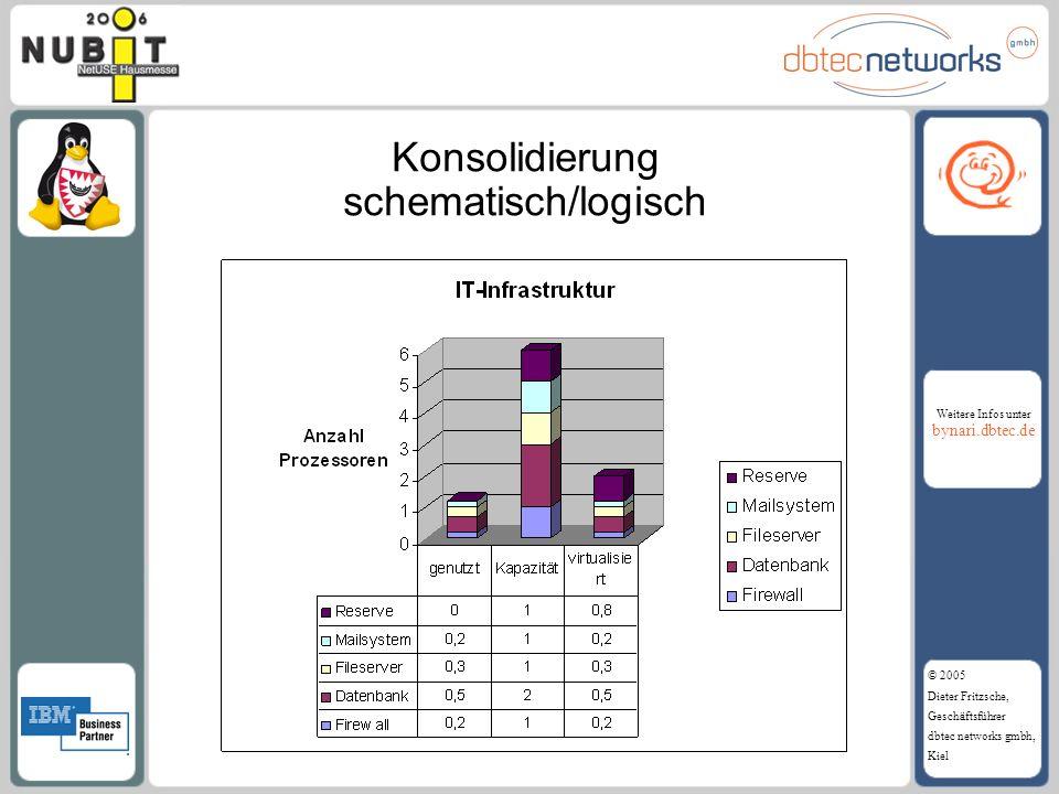 Konsolidierung schematisch/logisch