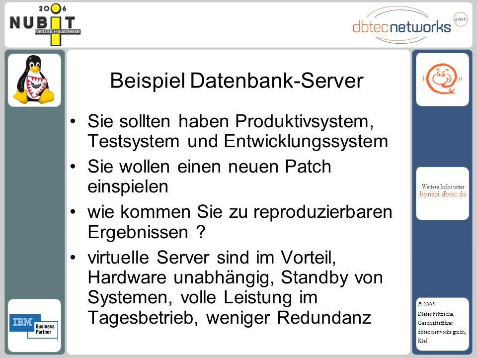 Beispiel Datenbank-Server