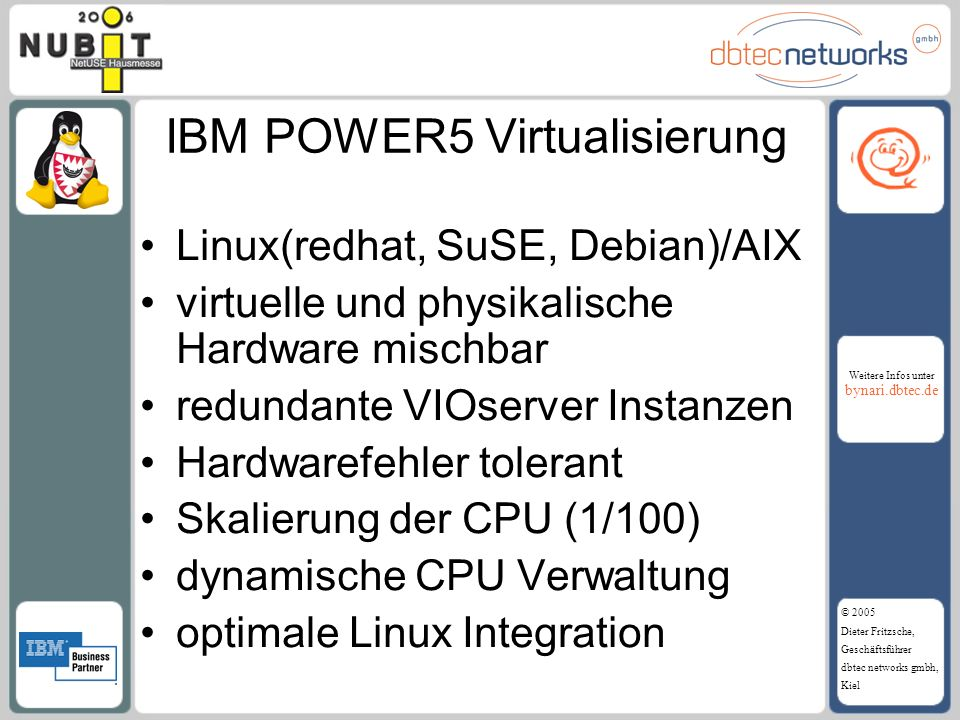 IBM POWER5 Virtualisierung