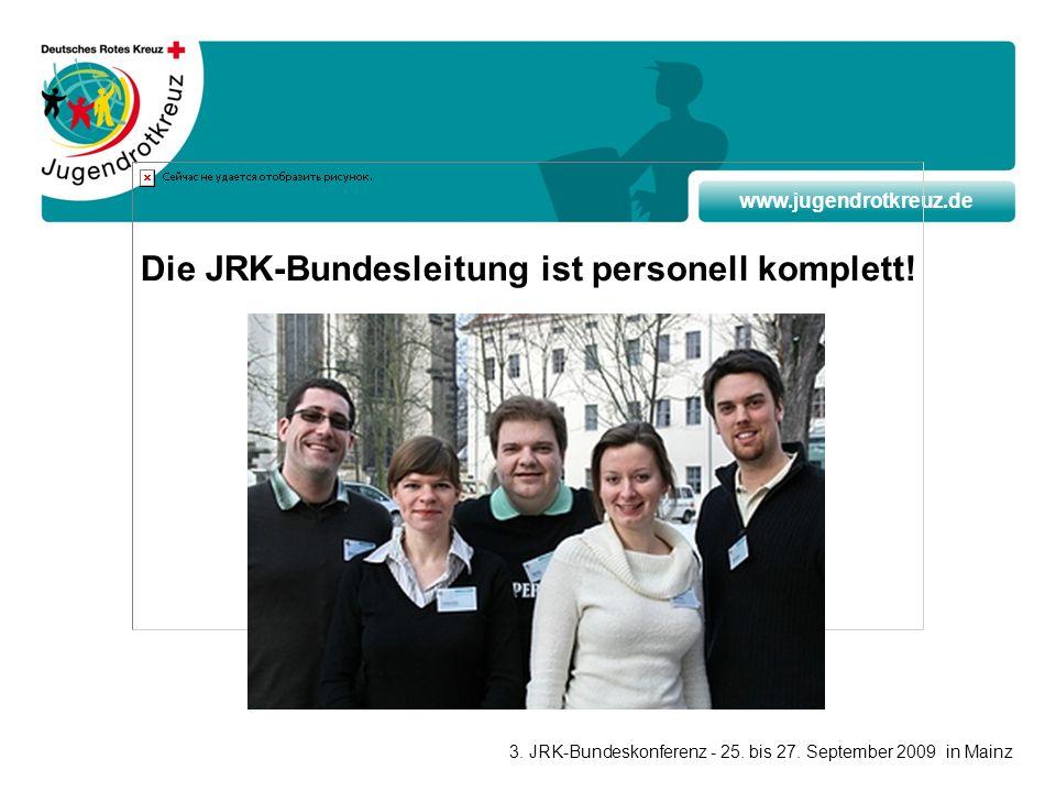 Die JRK-Bundesleitung ist personell komplett!