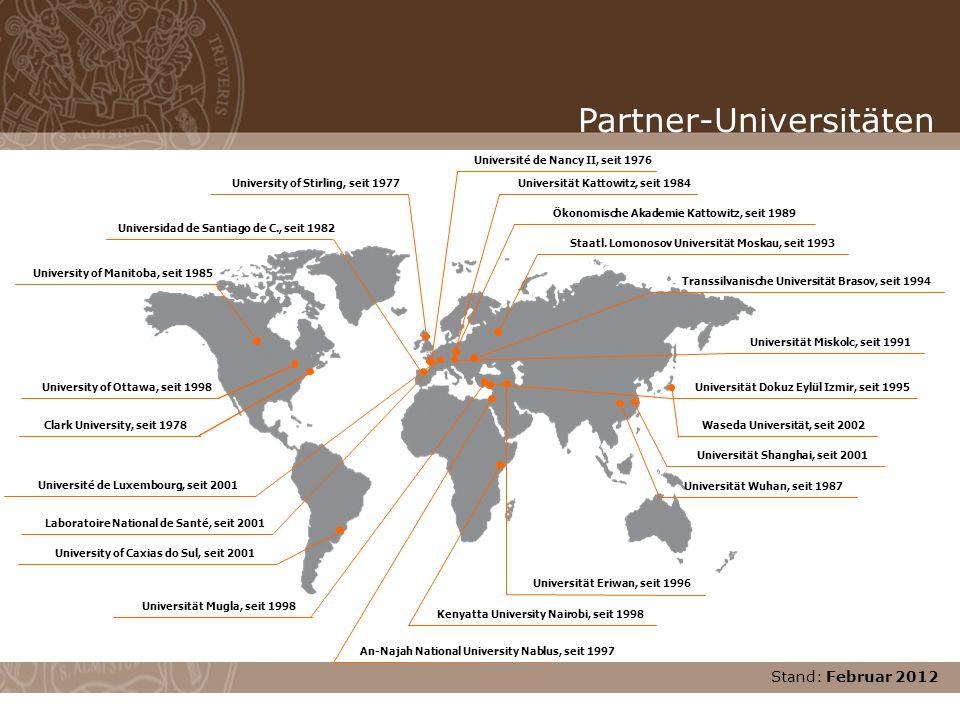 Partner-Universitäten