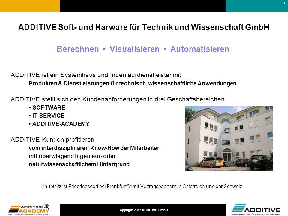 ADDITIVE Soft- und Harware für Technik und Wissenschaft GmbH