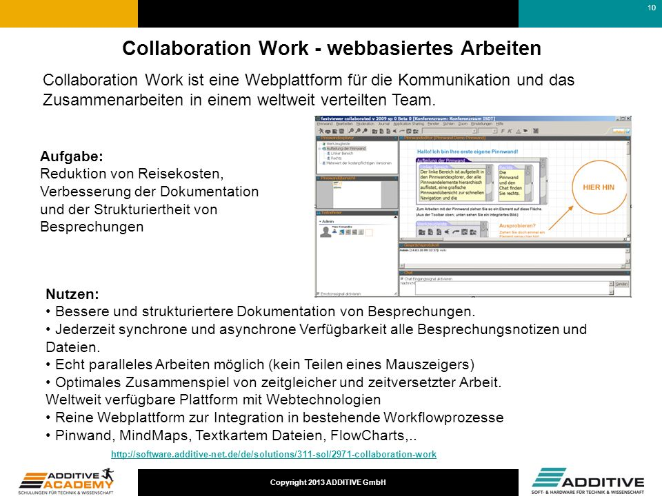 Collaboration Work - webbasiertes Arbeiten
