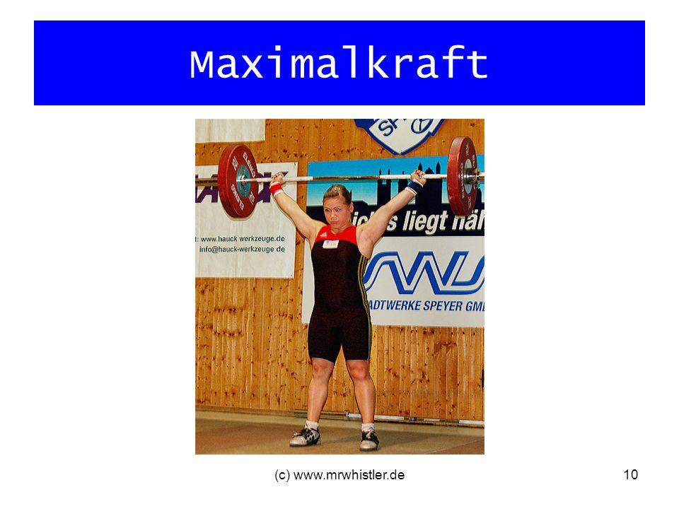 Maximalkraft (c) www.mrwhistler.de