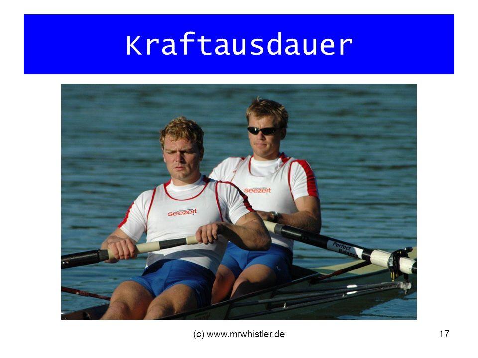 Kraftausdauer (c) www.mrwhistler.de