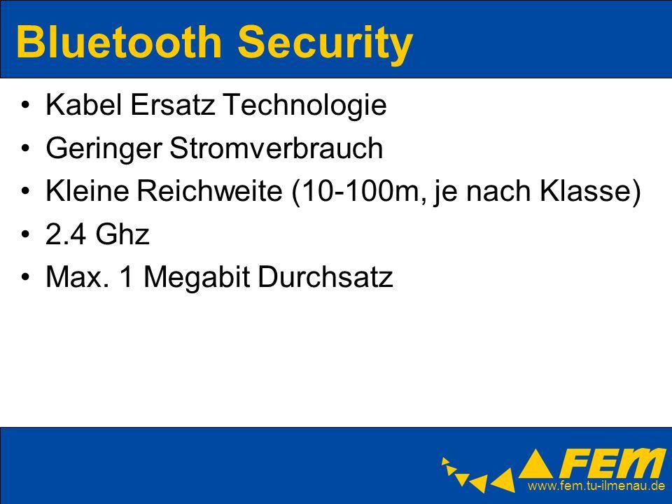 Bluetooth Security Kabel Ersatz Technologie Geringer Stromverbrauch