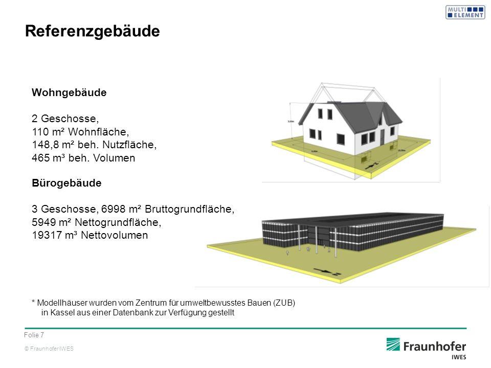 Referenzgebäude Wohngebäude