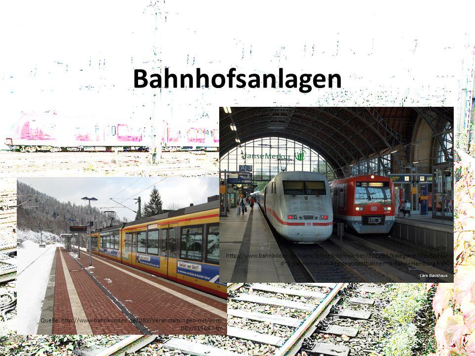 Bahnhofsanlagen
