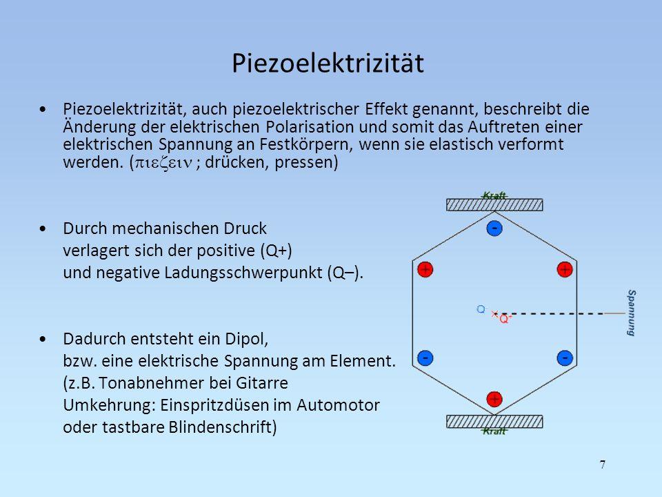 Piezoelektrizität