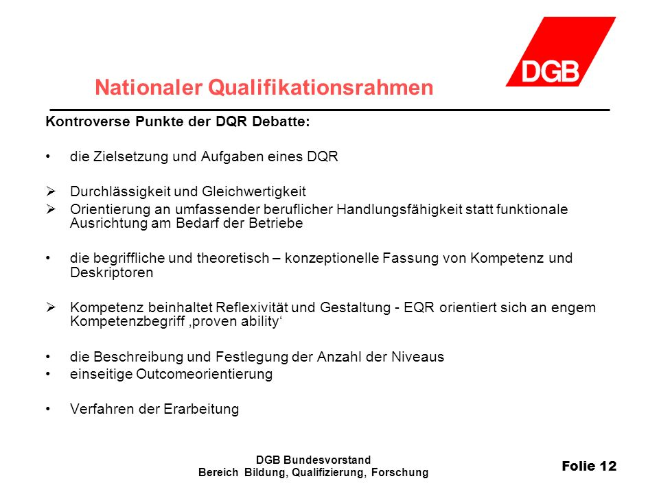 Nationaler Qualifikationsrahmen
