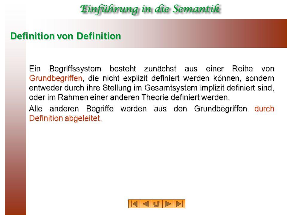 Definition von Definition