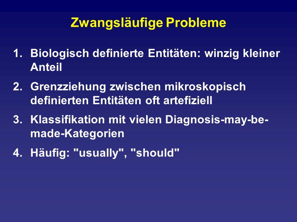 Zwangsläufige Probleme