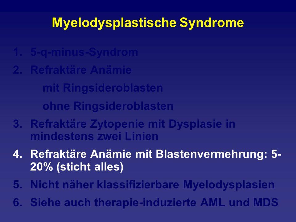 Myelodysplastische Syndrome