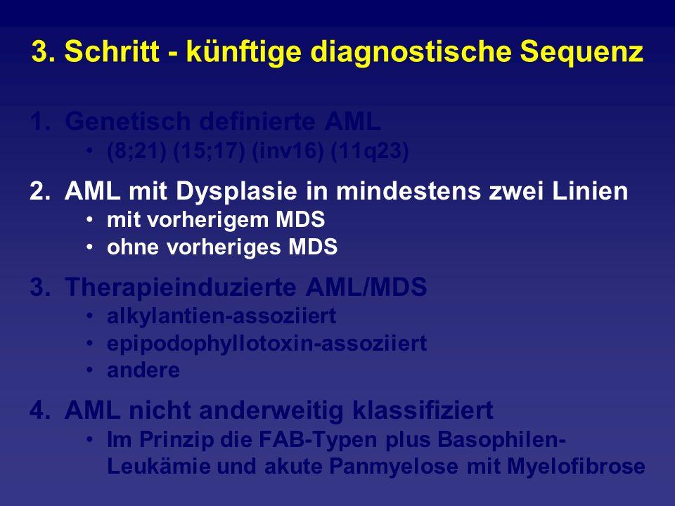 3. Schritt - künftige diagnostische Sequenz