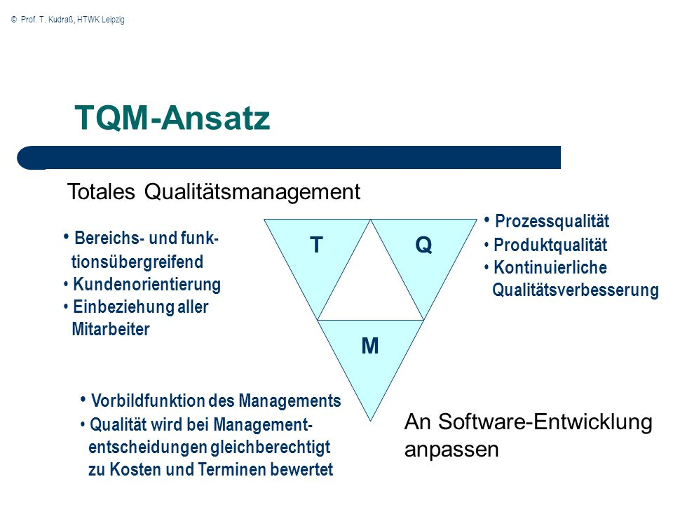 Totales Qualitätsmanagement