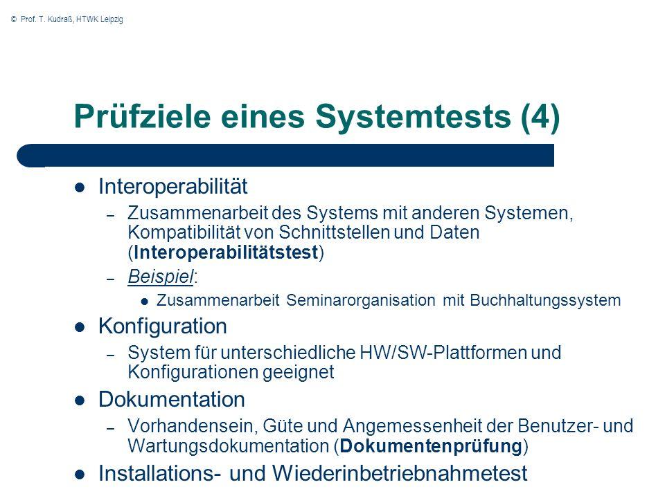 Prüfziele eines Systemtests (4)