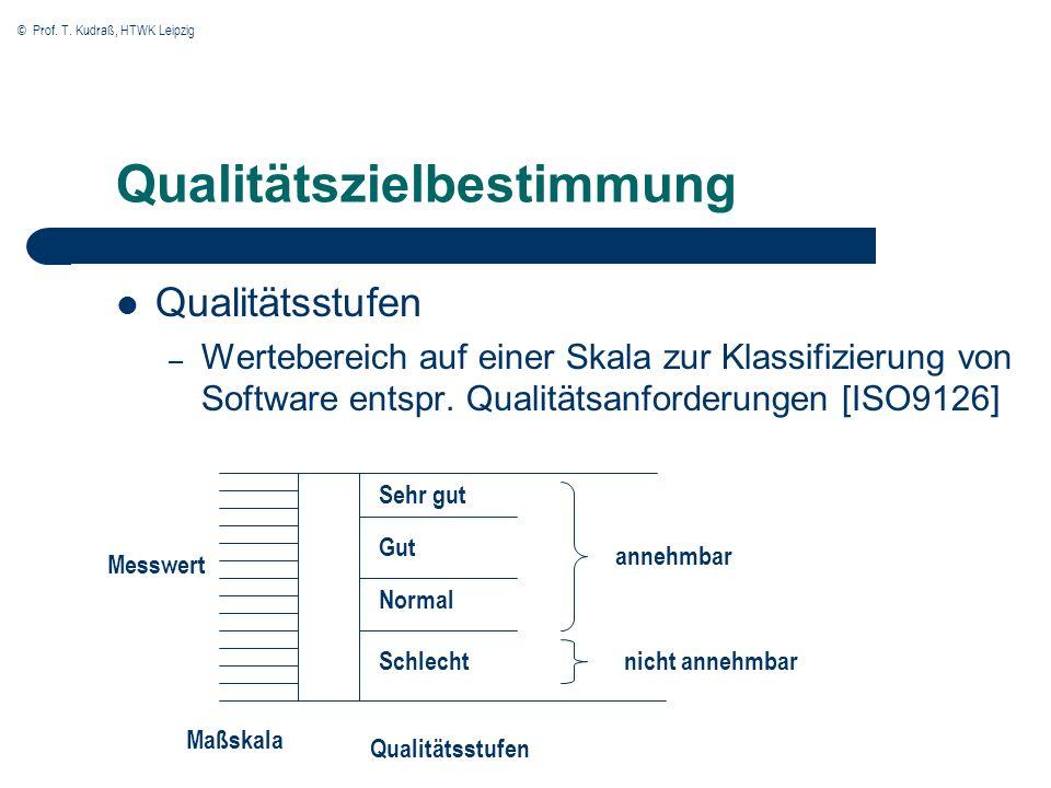 Qualitätszielbestimmung