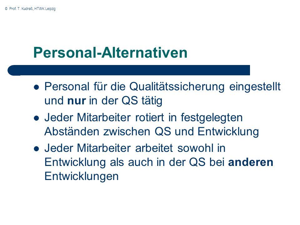 Personal-Alternativen