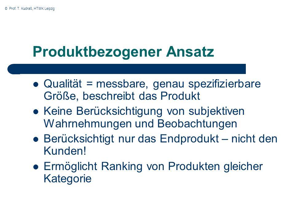 Produktbezogener Ansatz