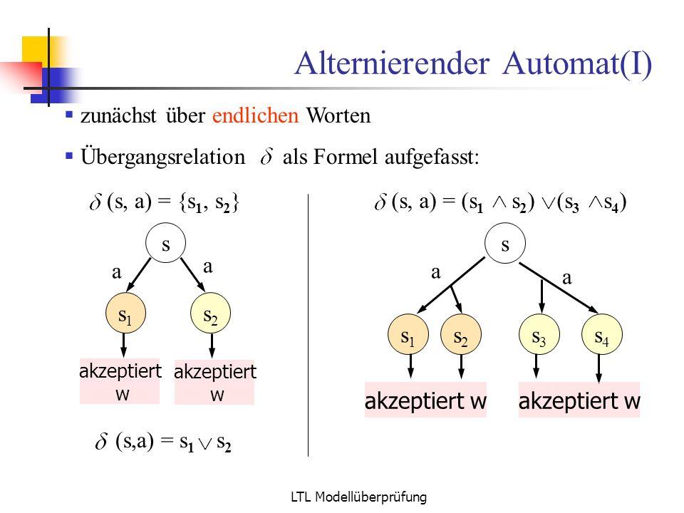 Alternierender Automat(I)