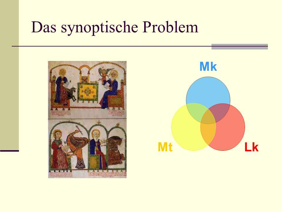 Das synoptische Problem