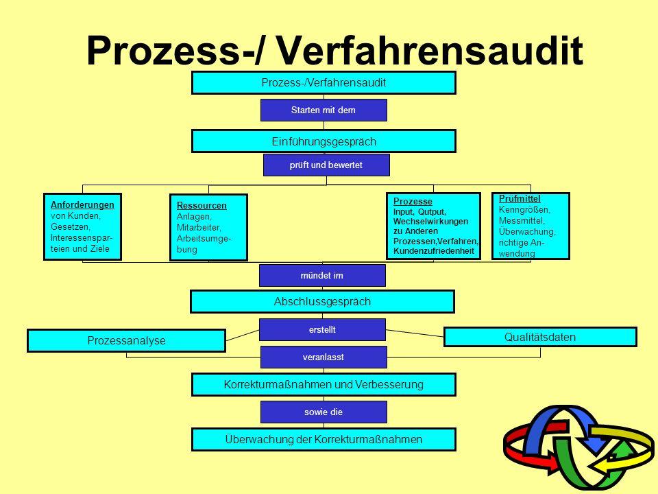 Prozess-/ Verfahrensaudit