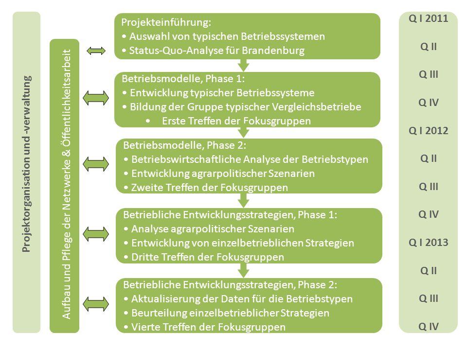 Projektorganisation und -verwaltung