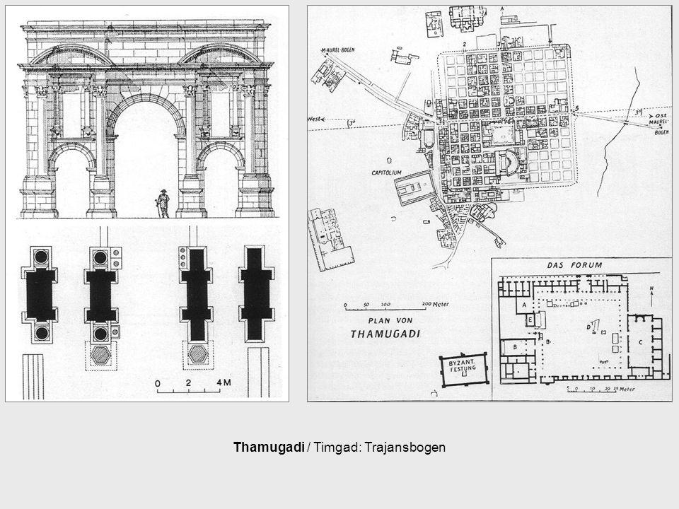 Thamugadi / Timgad: Trajansbogen