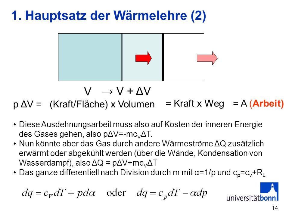 1. Hauptsatz der Wärmelehre (2)