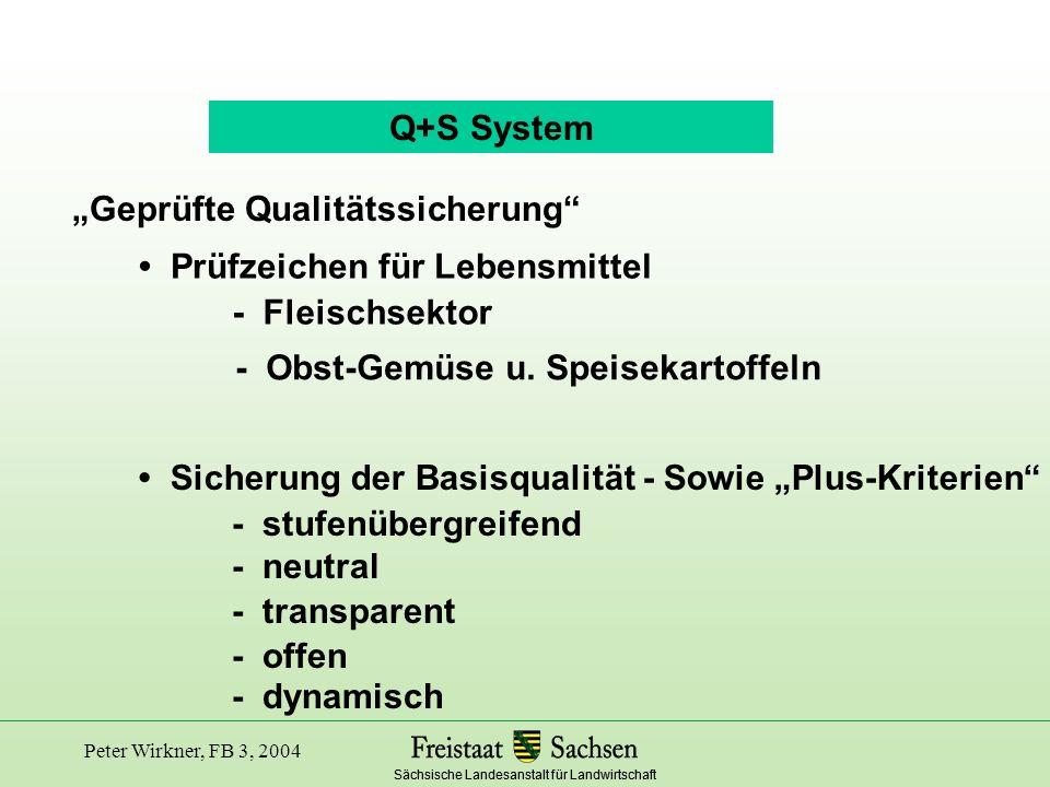 """""""Geprüfte Qualitätssicherung"""