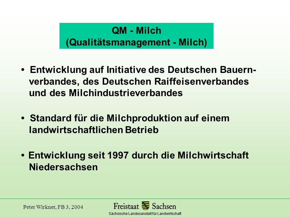 (Qualitätsmanagement - Milch)