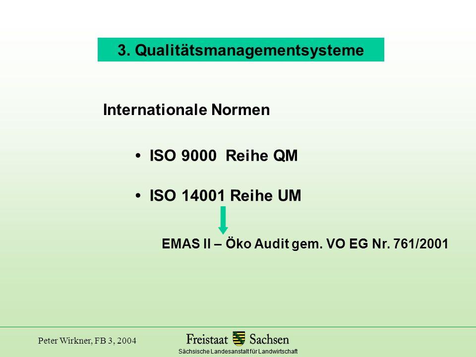 3. Qualitätsmanagementsysteme