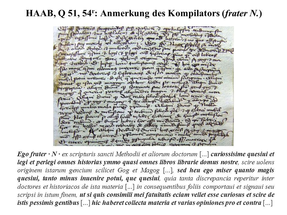 HAAB, Q 51, 54r: Anmerkung des Kompilators (frater N.)