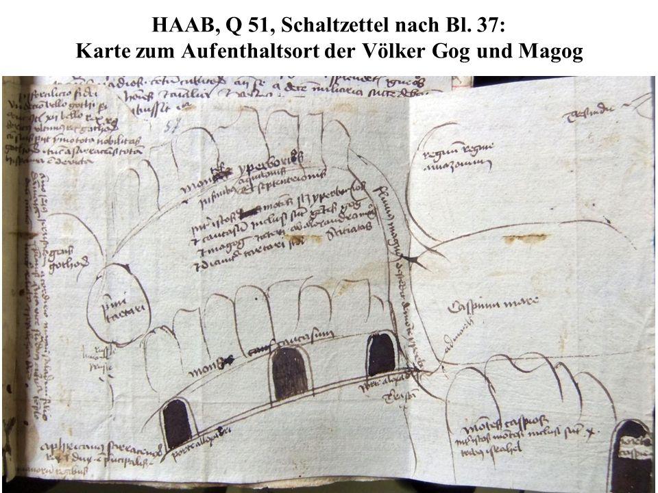 HAAB, Q 51, Schaltzettel nach Bl
