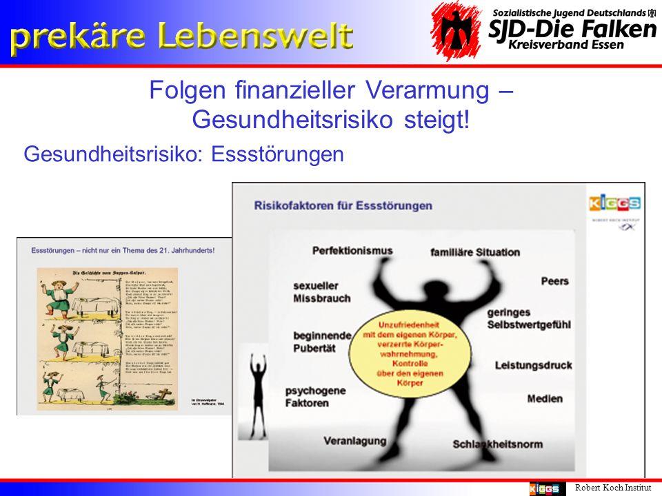 Folgen finanzieller Verarmung – Gesundheitsrisiko steigt!