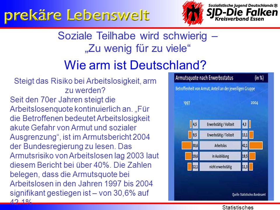 Wie arm ist Deutschland