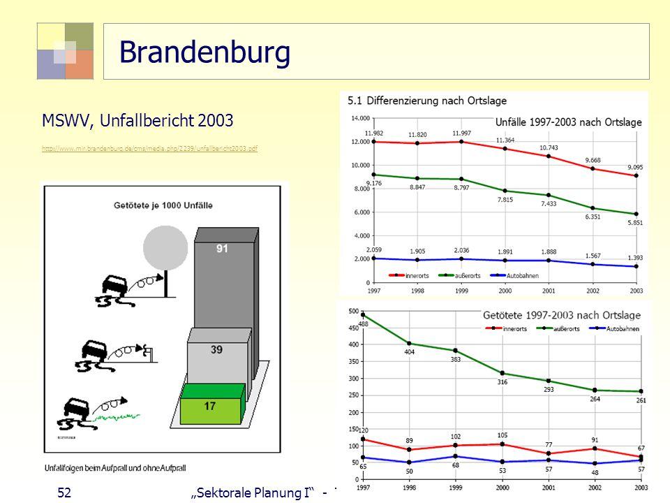 Brandenburg MSWV, Unfallbericht 2003