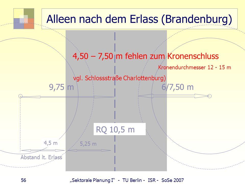 Alleen nach dem Erlass (Brandenburg)